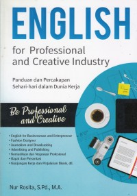 Image of English For Professional and Creative Industry